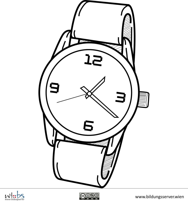 Armbanduhr zeichnung  Bilddatenbank